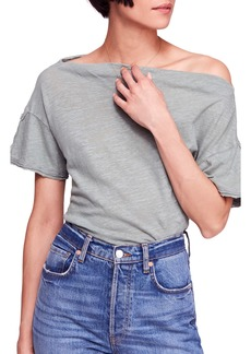 Free People She's So Cool Off the Shoulder Top