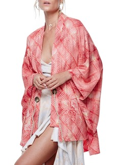 Free People Shibori Print Kimono