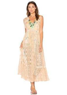 Free People Shine On Midi in Orange. - size L (also in M,S,XS)