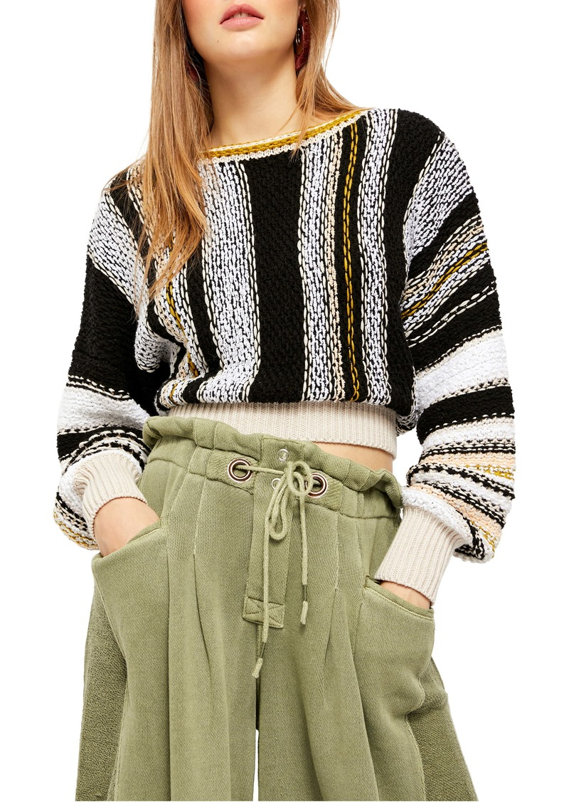 Free People Show Me Love Oversize Sweater