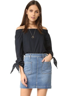Free People Show Me Some Shoulder Blouse