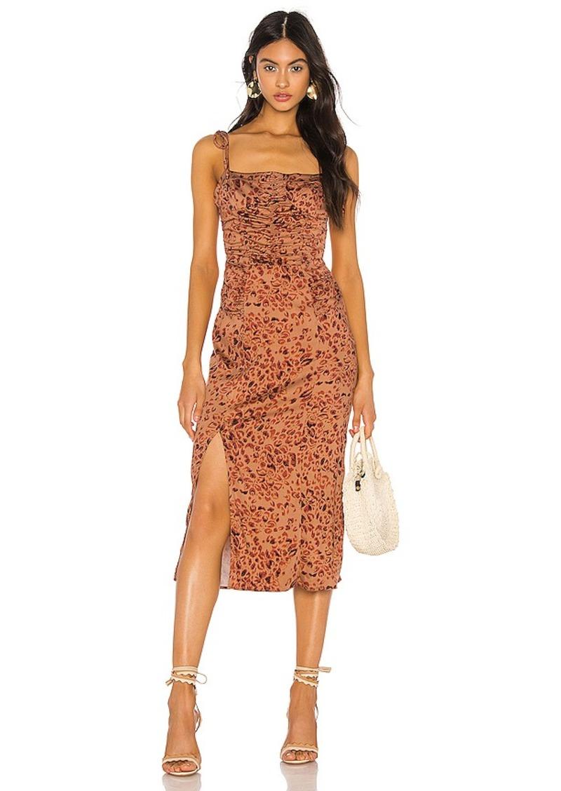 Free People Show Stopper Midi Dress