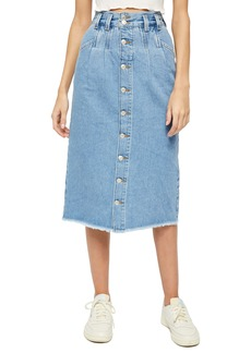 Free People Sidney Midi Skirt