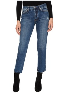 Free People Slim Boyfriend - Steel Blue