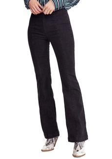 Free People Slim Pull-On Flare Pants