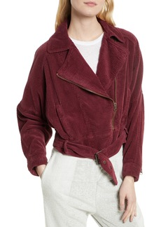 Free People Slouchy Dolman Moto Jacket