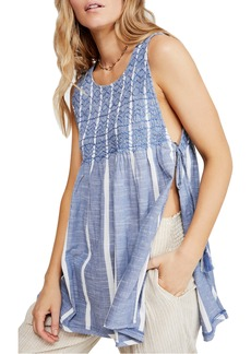 Free People Smocked Tank