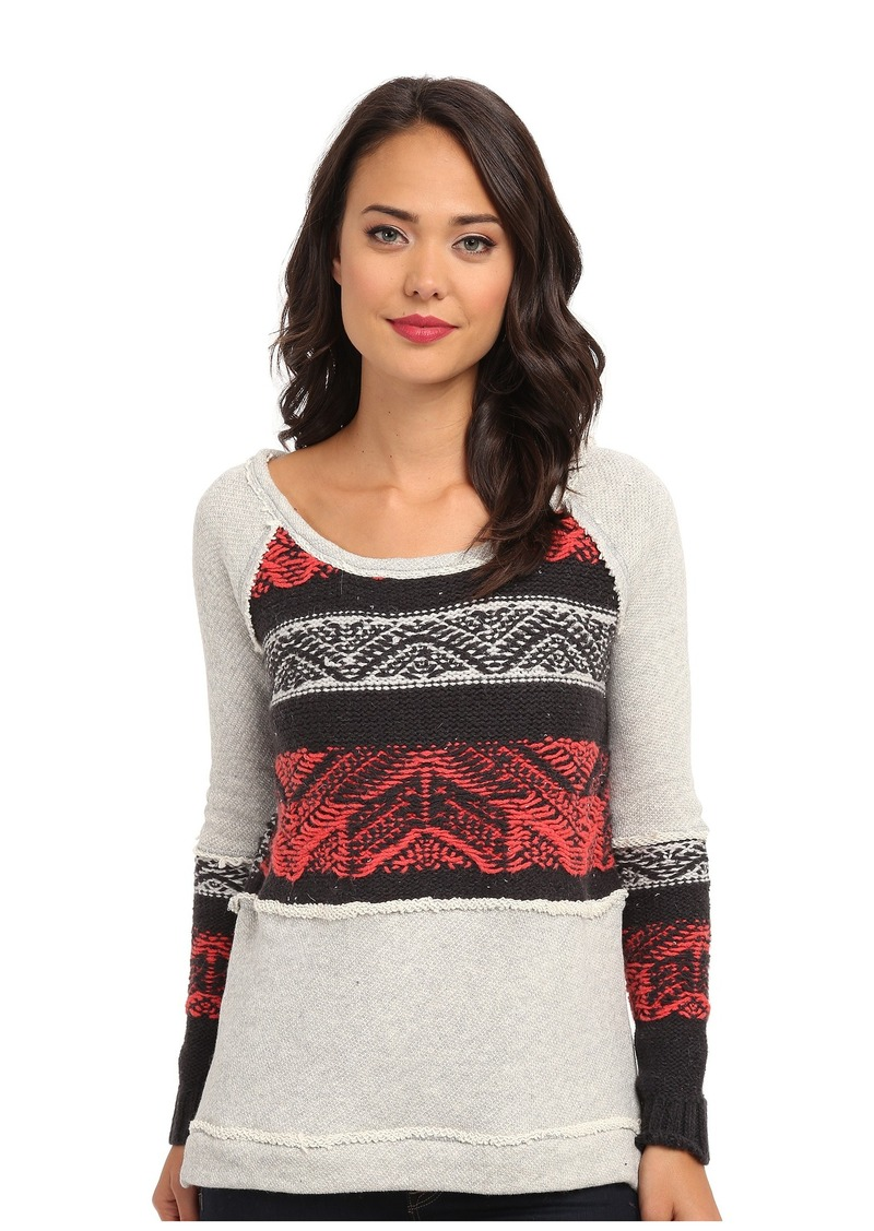 Free People Snow Angel Pullover