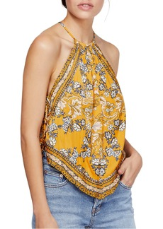 Free People Sofia Print Halter Top