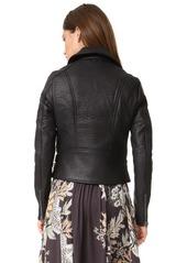 Free People Soho Vegan Leather Jacket
