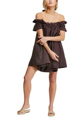Free People Sophie Off the Shoulder Minidress