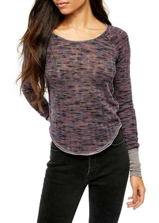 Free People Spaced Out Knit Shirt