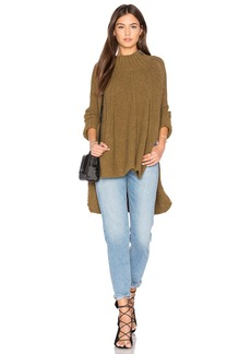 Free People Spin Around Poncho Top