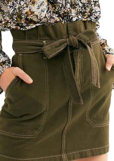 Free People Splendor in the Grass Paperbag Waist Skirt