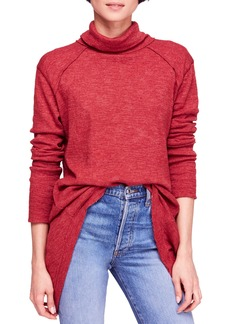 Free People Split Back Turtleneck