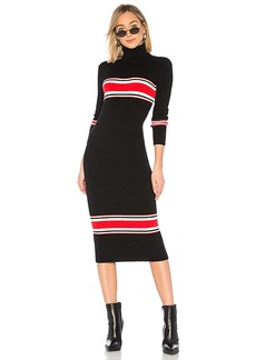 Free People Sport Stripe Midi Dress