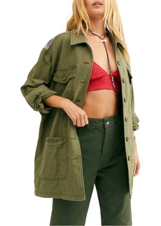 Free People Spruce Military Jacket