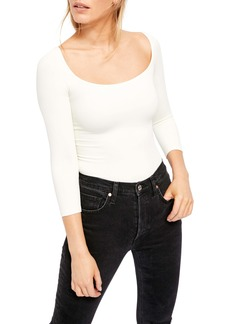 Free People Square Neck Tee