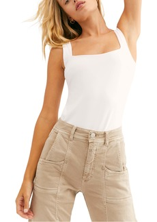 Free People Square Off Compression Tank