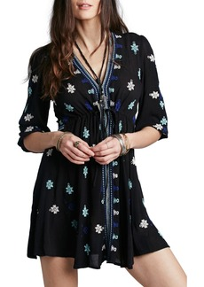 Free People 'Star Gazer' Embroidered Tunic Dress