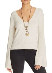 Free People Starman Bell-Sleeve Sweater