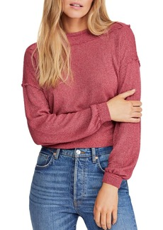 Free People Stay With Me Boat-Neck Top