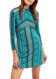 Free People 'Stella' Graphic Print Minidress