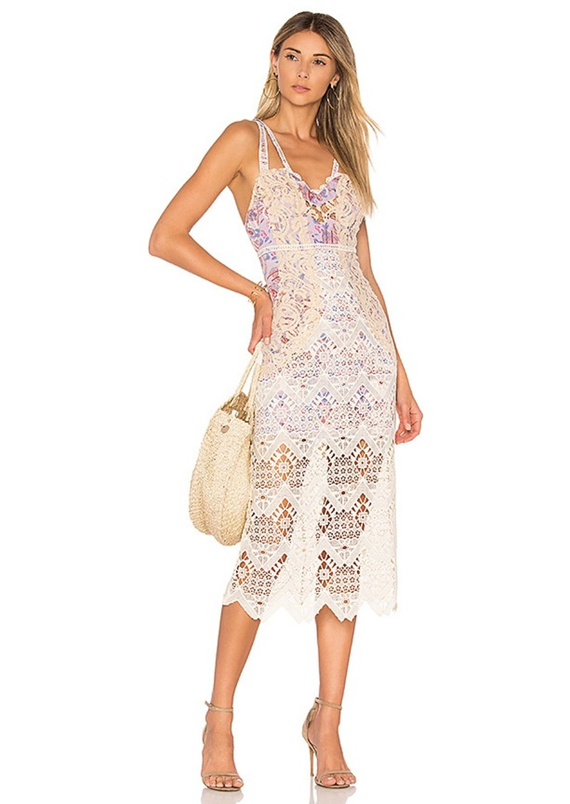 Free People Still Life Midi in White. - size 0 (also in 2,4,6)