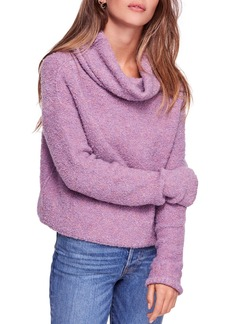 Free People Stormy Cowl-Neck Sweater