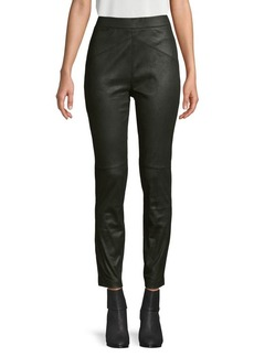 Free People Stretch Faux-Leather Pants