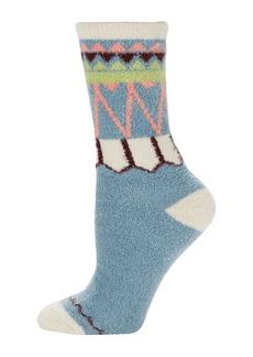 FREE PEOPLE Striped Plush Crew Socks