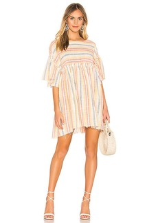 Free People Summer Nights Striped Dress