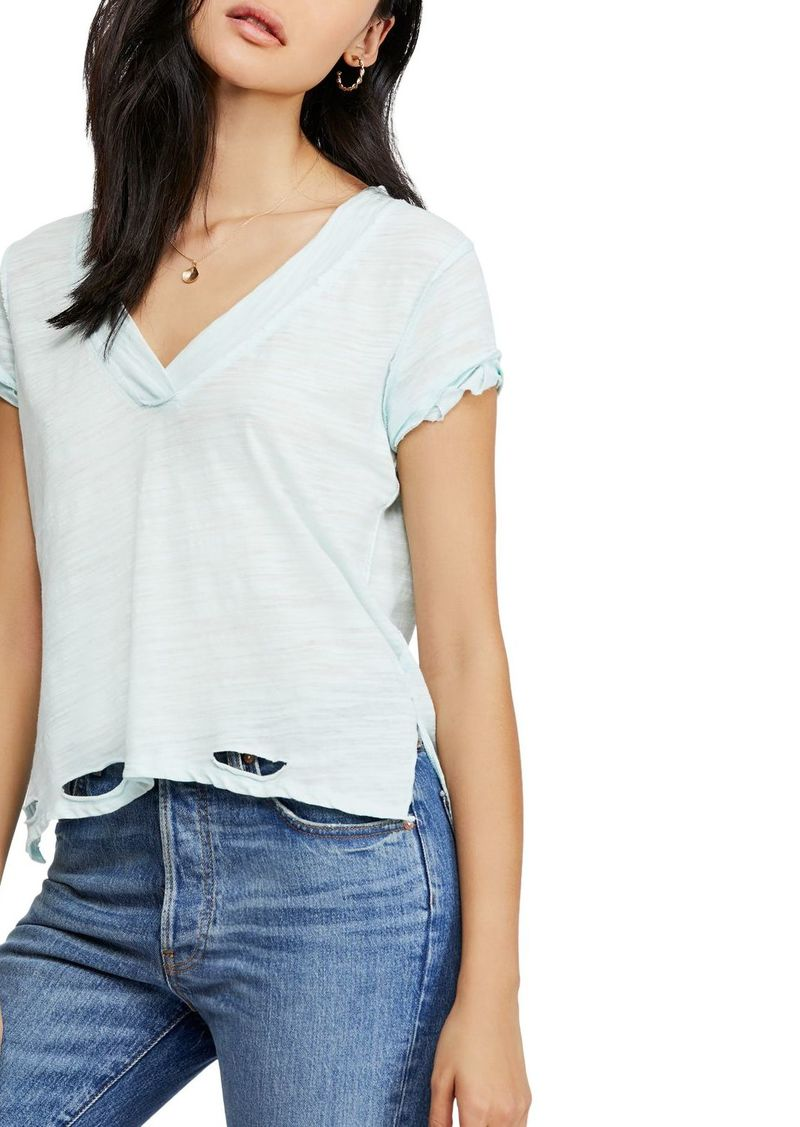 Free People Sundance Distressed Tee