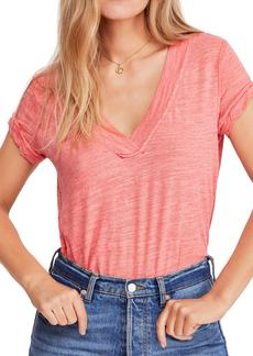 Free People V-Neck Tee