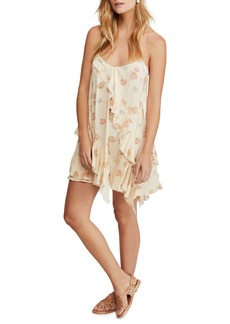 Free People Sunlit Print Minidress