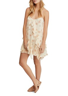 Free People Sunlit Seashell Print Mini Dress