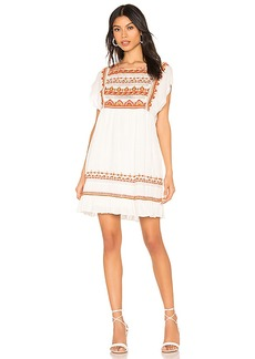 Free People Sunrise Wanderer Mini Dress