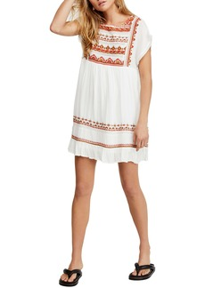 Free People Sunrise Wanderer Minidress