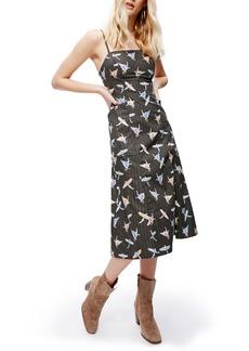 Free People Sunshine of Your Love Cotton Midi Dress