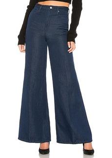 Free People Super High Rise Wide Leg Jean