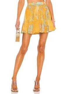 Free People Sway My Way Mini Skirt