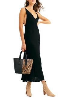 Free People Sweet as Honey Knit Midi Dress