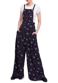 Free People Sweet in the Streets Overalls