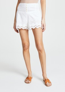 Free People Sweet Like Candy Eyelet Shorts