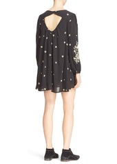 Free People 'Sweet Tennessee' Embroidered Minidress