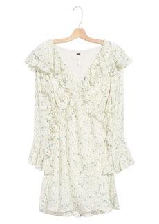Free People Sweetest Thing Long Sleeve Minidress