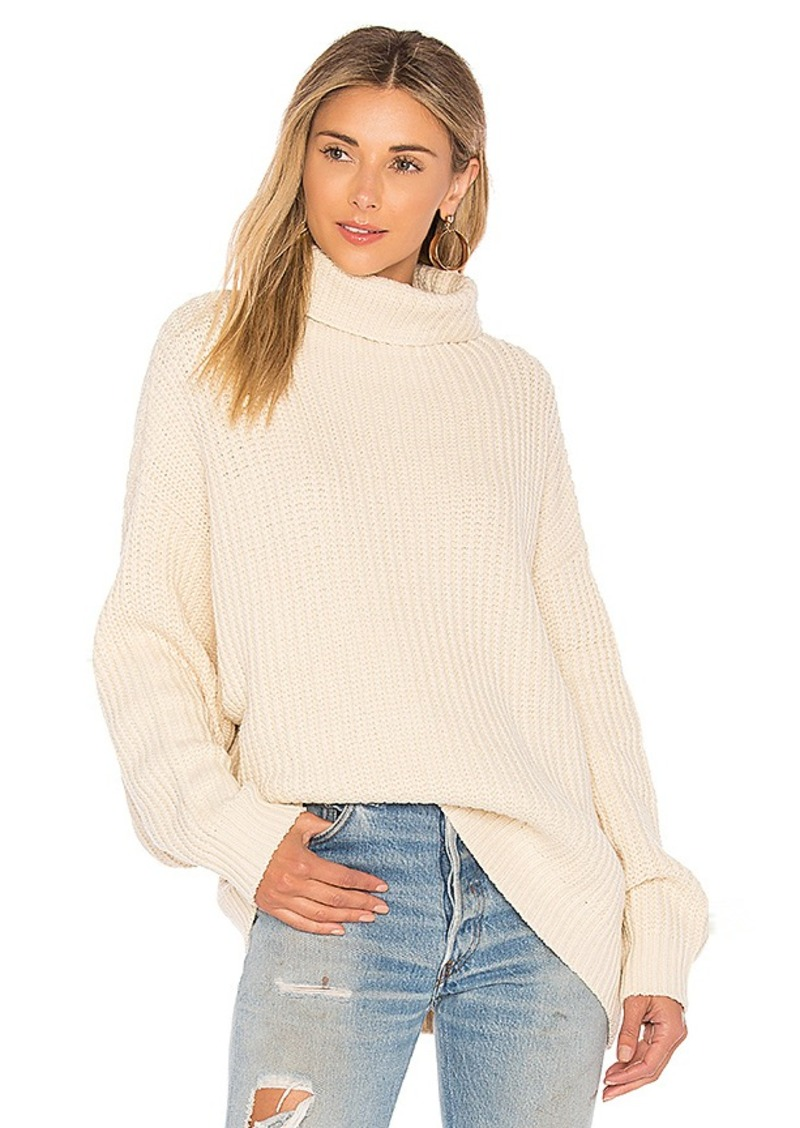 Free People Free People Swim Too Deep Pullover Sweater in Ivory ...