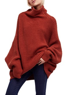 Free People Swim Too Deep Turtleneck Sweater