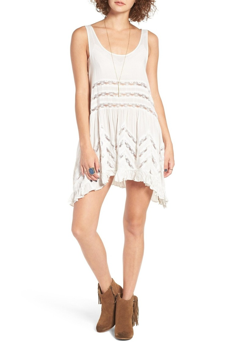 15afefac9110 Free People Free People Swingy Lace Inset Tunic | Dresses