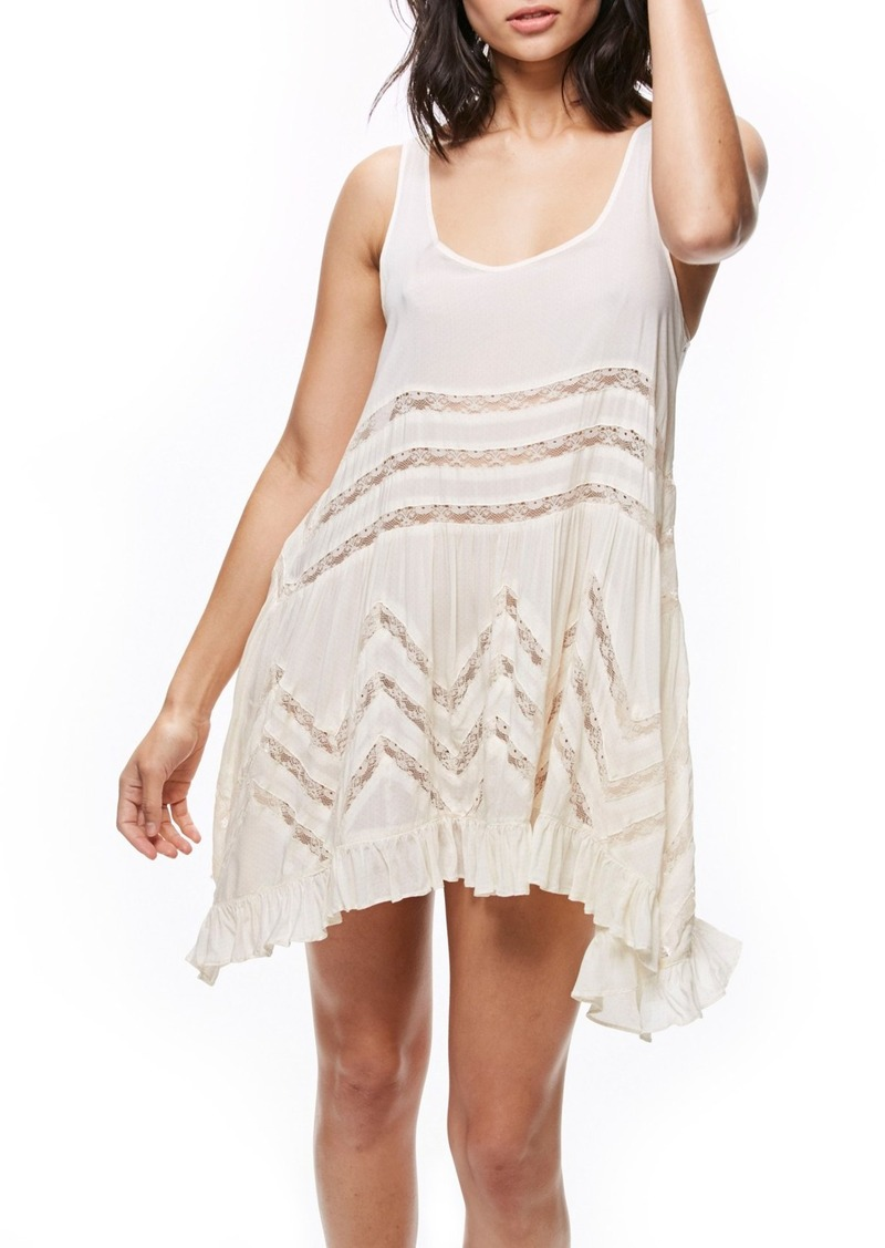 0bdbd1100a54 On Sale today! Free People Free People Swingy Lace Inset Tunic